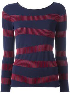 полосатая блузка  Armani Collezioni