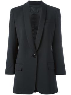 пиджак с лацканами-шалькой Alexander Wang