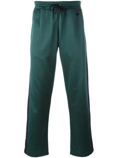 спортивные брюки с контрастной отделкой Ami Alexandre Mattiussi