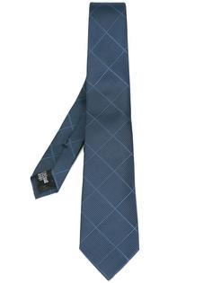 галстук с геометрическим узором Armani Collezioni