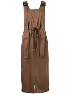 Twill Utility Pinafore dress G.V.G.V.