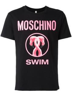 футболка Flamingo  Moschino Swim