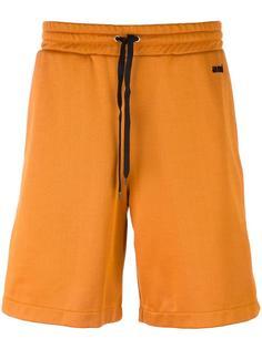 спортивные шорты с контрастными полосками Ami Alexandre Mattiussi