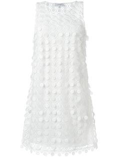 платье-шифт с круглым вырезом Carven