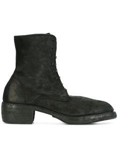 сапоги со шнуровкой Guidi