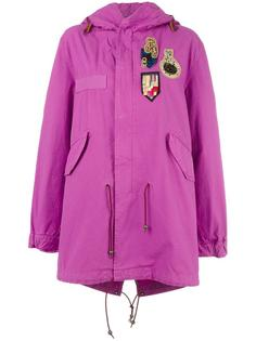 Bouganville patched mid coat Mr & Mrs Italy
