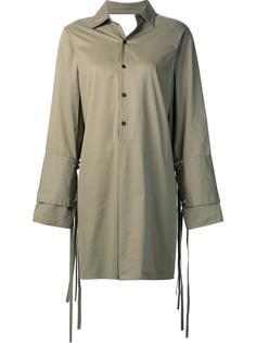 платье-рубашка с двойными манжетами Tome