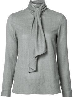 блузка с элементом шарфа Vanessa Seward