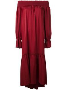 платье со спущенными плечами Theory