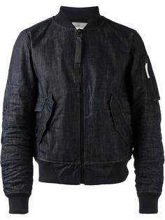 джинсовая куртка-бомбер G-Star