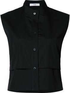 укороченная рубашка без рукавов Tome