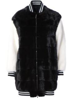 удлиненная университетская куртка Blancha