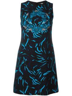 floral print sleeveless dress Versus