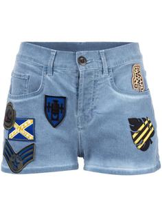 patched denim shorts Mr & Mrs Italy