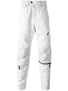 джинсы с молниями G-Star