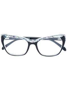 "оптические очки в оправе ""кошачий глаз"" Emilio Pucci"