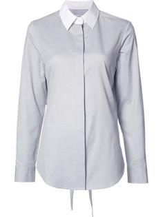рубашка Dot Pique Tie Back Tome