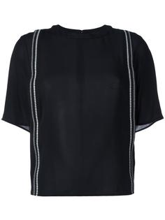 футболка с вышитыми лентами 3.1 Phillip Lim