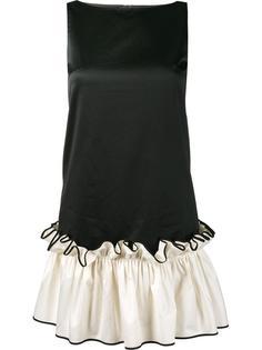 мини-платье с рюшами на подоле Huishan Zhang