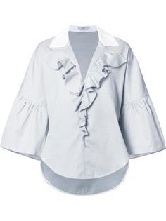 рубашка Dot Pique Ruffled  Tome