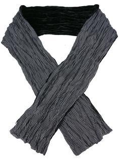 шарф с узором в горох John Varvatos