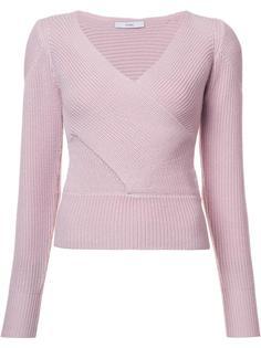 свитер с перекрещенной деталью Tome