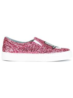 #findmeinwonderland sneakers Chiara Ferragni