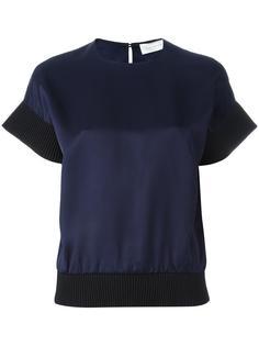 ribbed hem T-shirt Victoria Beckham