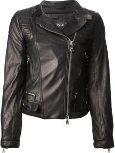 классическая байкерская куртка Giorgio Brato