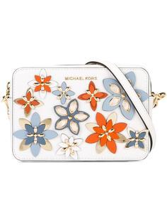 сумка-футляр с цветочным украшением Michael Michael Kors