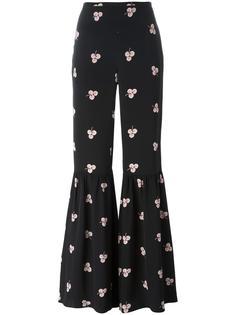 брюки с завышенной талией Vilshenko