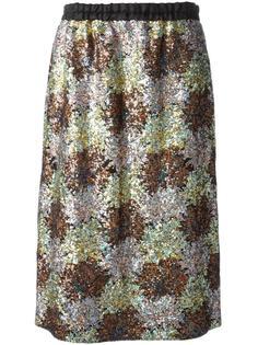 юбка с пайетками Nº21