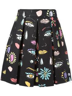 юбка с рисунком Beauty Boutique Moschino