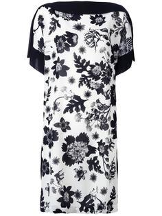 floral print shift dress Antonio Marras
