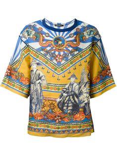 футболка с принтом Chinese Dolce & Gabbana