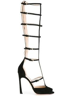 tall caged sandals Giambattista Valli