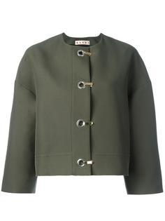 пиджак с застежкой на крючки  Marni