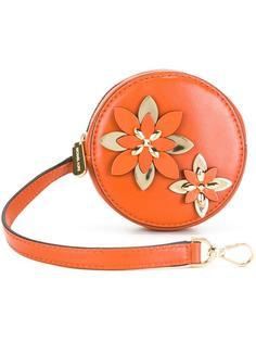 кошелек для монет с цветочным украшением Michael Michael Kors