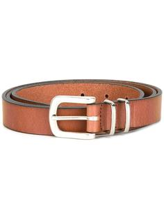 silver-tone hardware belt Eleventy