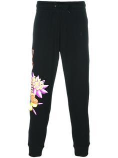 спортивные брюки с принтом тигра Moschino
