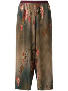 плиссированные брюки Antonio Marras