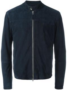 banded collar jacket Eleventy