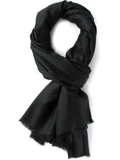шарф с монограммным узором Salvatore Ferragamo
