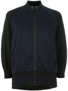 raglan sleeve bomber jacket Sacai