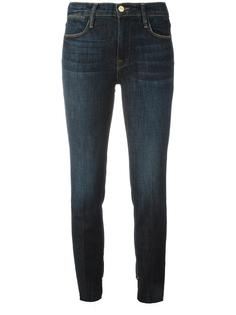 straight cropped jeans Frame Denim