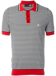 футболка-поло в полоску Love Moschino