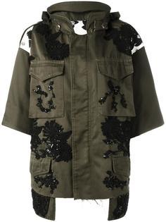 куртка с кружевными аппликациями Antonio Marras