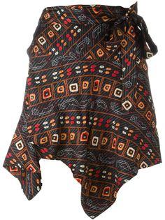 асимметричная юбка  Isabel Marant