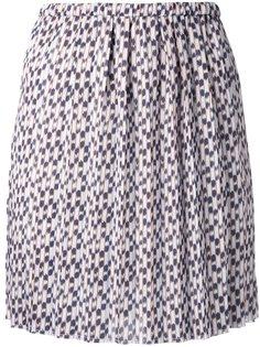 жаккардовая юбка с мелким узором Isabel Marant Étoile