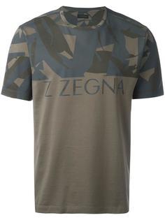 футболка с принтом с логотипом Z Zegna
